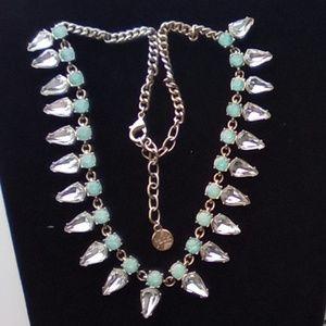 Bella Jack- Aquamarine &Crystal Rhinestone Jewelry
